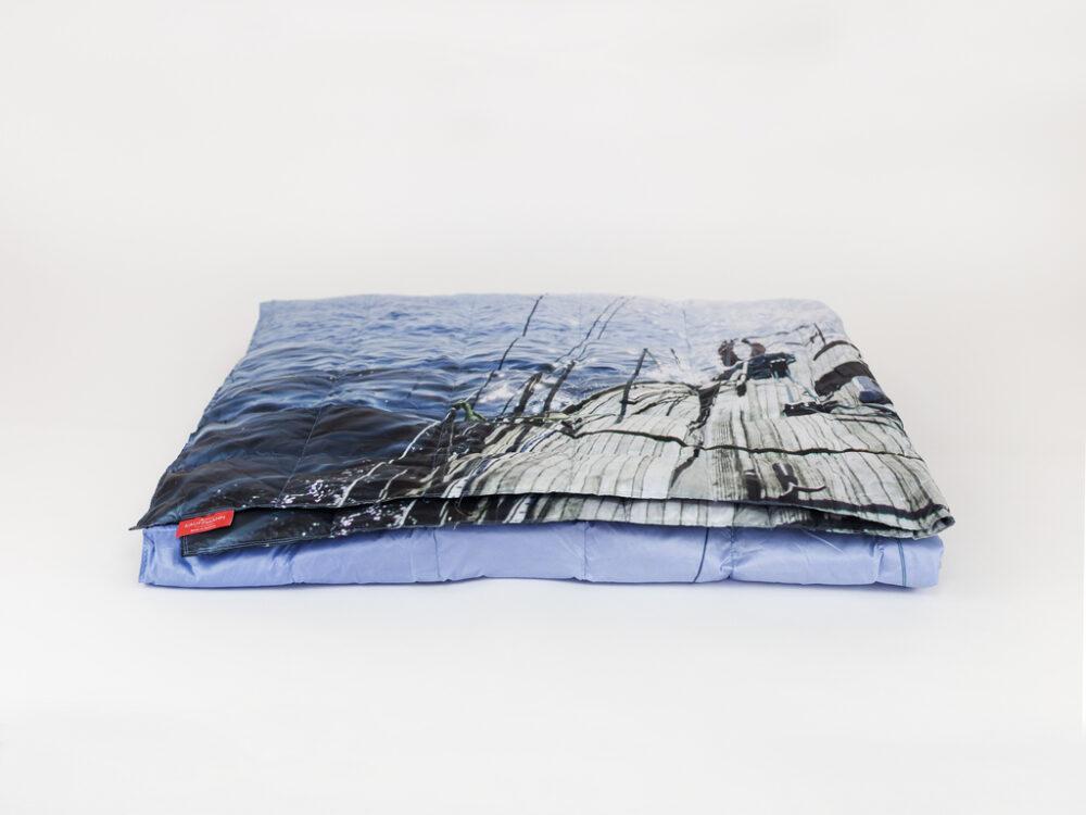 Пуховое одеяло KAUFFMANN TRAVEL PLAID