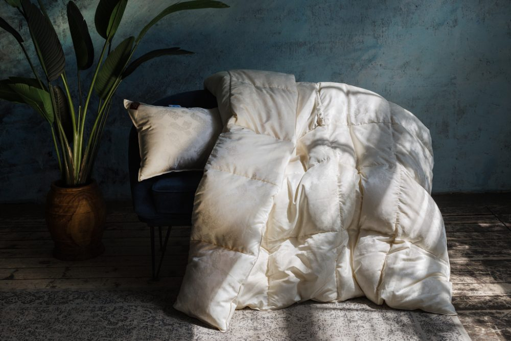 Пуховое одеяло SILK DOWN GRASS